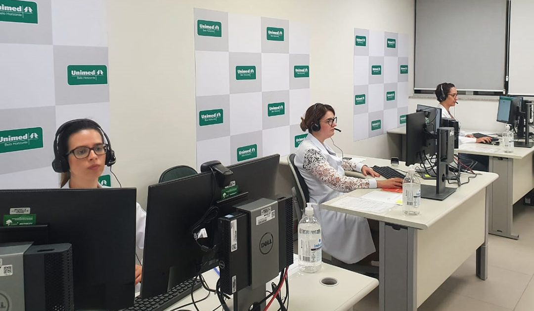 Serviço de consulta online da Unimed-BH registra mais de 20 mil atendimentos